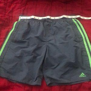 Adidas swim trunks for boys